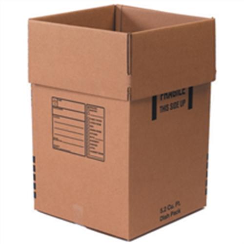 Dish packing boxes  sc 1 st  USA Moving u0026 Storage & Moving boxes u0026 Supplies Chicago Order Box Storage Boxes Wardrobe ...