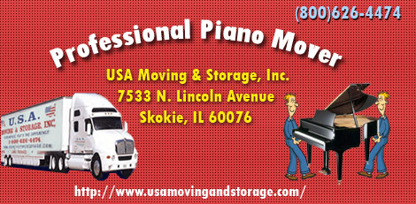 Professional Piano Mover