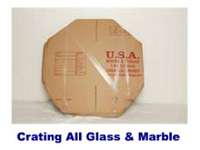 Crating all glass and marble